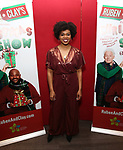 """Khalia Wilcoxon attend the Opening Night After Party for """"Ruben & Clay's First Annual Christmas Show"""" on December 11, 2018 at The Copacabana Times Square in New York City."""