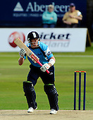 Scottish Saltires V Hampshire Royals, CB40 series, at Mannofield, Aberdeen - Scots Overseas Pro, (Australia A Capt) George Bailey reached 43 before falling to the bowling of Royals Chris Wood - Picture by Donald MacLeod 21.06.10 - mobile 07702 319 738 - words (if required) from William Dick 077707 83923