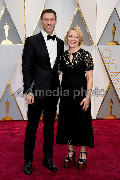 26 February 2017 - Hollywood, California - Travis Knight and Arianne Sutner. 89th Annual Academy Awards presented by the Academy of Motion Picture Arts and Sciences held at Hollywood & Highland Center. Photo Credit: AMPAS/AdMedia