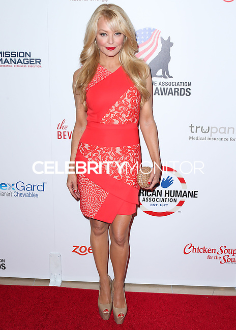 BEVERLY HILLS, CA, USA - SEPTEMBER 27: Charlotte Ross arrives at the 4th Annual American Humane Association Hero Dog Awards held at the Beverly Hilton Hotel on September 27, 2014 in Beverly Hills, California, United States. (Photo by Xavier Collin/Celebrity Monitor)