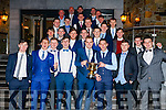Celebrating the Kerins O'Rahilly's social at Fels Point Hotel, Tralee on Saturday night last were the Under 21 team.