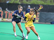 College Park, MD - April 19, 2018: Maryland Terrapins Grace Griffin (22) in action during game between Penn St. and Maryland at  Field Hockey and Lacrosse Complex in College Park, MD.  (Photo by Elliott Brown/Media Images International)