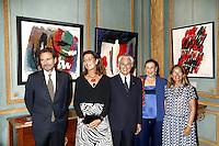 --- NO TABLOIDS, NO SITE WEB --- Monaco, 14 Septembre 2016. KARL STENGEL ‡ La Galerie Adriano Ribolzi.<br /> LaurÈat du Grand prix d'art Contemporain Gemlucart 2015, concours international placÈ sous le prÈsidence d'honneur de S.A.R. La Princesse de Hanovre et dÈcernÈ par le Gemluc, Karl Stengel s'est vu offrir une exposition personnelle dans la Galerie de l'Antiquaire Adriano Ribolzi ‡ Monaco.<br /> En prÈsence de S.A.R. La Princesse Caroline de Hanovre, Mr Mme Adriano Ribolzi et Mme Brych (PrÈsidente du Gemluc). # LA PRINCESSE CAROLINE DE MONACO A L'EXPOSITION DE KARL STENGEL A MONACO