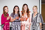 Danika O'Grady, Brid Kissane, Amy Phelan and Tara Casey enjoying the Dr Crokes GAA celebration social in the Gleneagle Hotel on Sunday night