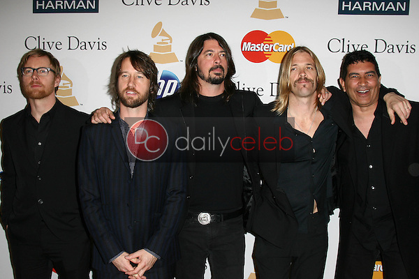 Foo Fighters<br /> at the Clive Davis Pre-Grammy Awards Party, Beverly Hilton Hotel, Beverly Hills, CA. 02-12-11<br /> David Edwards/DailyCeleb.com 818-249-4998