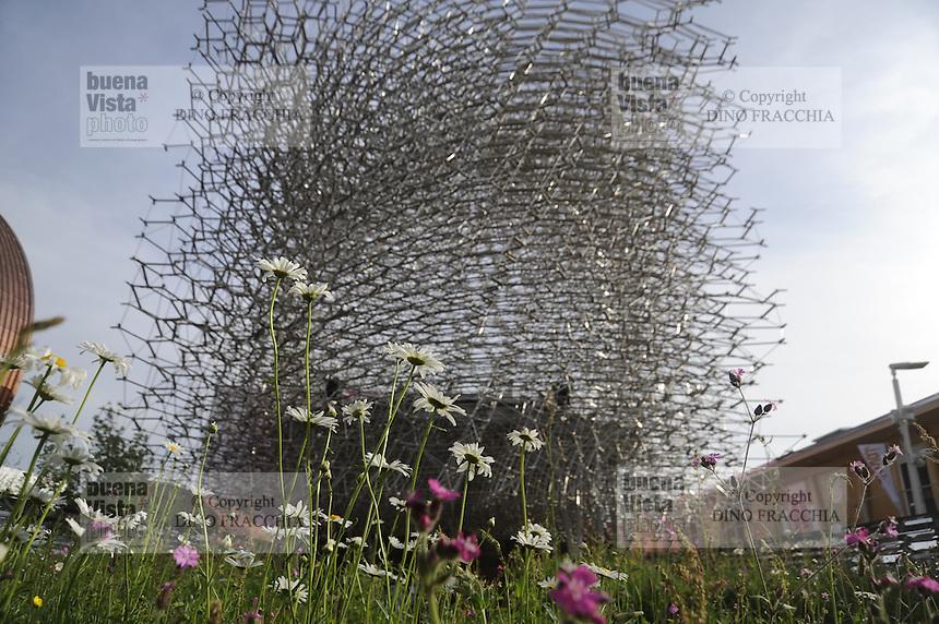 - Milano, Esposizione Mondiale Expo 2015, padiglione Gran Bretagna<br /> <br /> - Milan, the World Exhibition Expo 2015, Great Britain pavillion