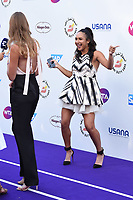 Kristina Mladenovic and Heather Watson at the Women's Tennis Association 's (WTA) Tennis on The Thames evening reception at OXO2, London, UK. <br /> 28 June  2018<br /> Picture: Steve Vas/Featureflash/SilverHub 0208 004 5359 sales@silverhubmedia.com
