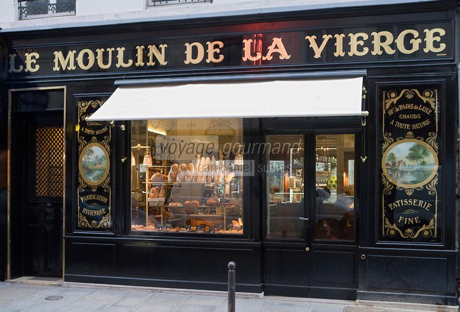 """Europe/France/Ile-de-France/75007/Paris: Boulangerie  """"Le Moulin de la Vierge"""" 64 Rue Saint-Dominique"""