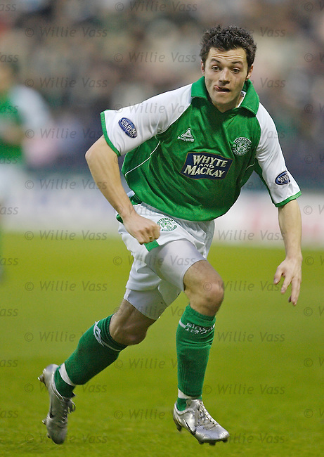 Ivan Sproule, Hibs.stock season 2005-2006.pic willie vass