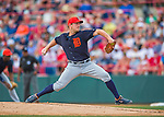 5 March 2016: Detroit Tigers pitcher Jordan Zimmermann in his first appearance against his former team, on the mound during a Spring Training pre-season game against the Washington Nationals at Space Coast Stadium in Viera, Florida. The Tigers fell to the Nationals 8-4 in Grapefruit League play. Mandatory Credit: Ed Wolfstein Photo *** RAW (NEF) Image File Available ***