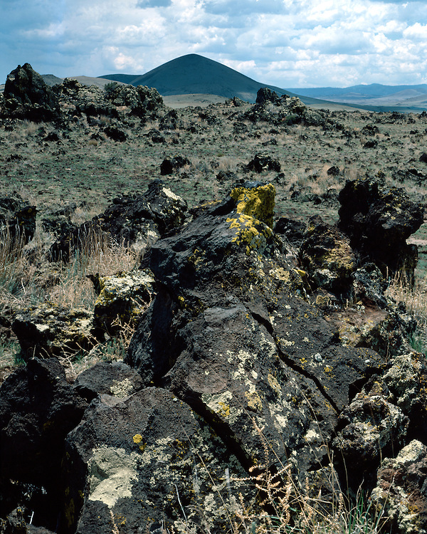 Lava field near Springerville in Apache County, AZ