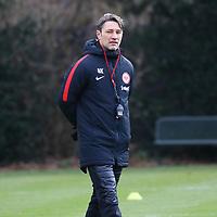 Trainer Niko Kovac (Eintracht Frankfurt) - 29.12.2017: Eintracht Frankfurt Training, Commerzbank Arena