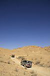 Israel, Negev, a dirt road above Ramon Crater