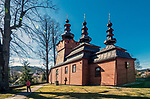Prawosławna cerkiew pod wezwaniem św. Michała Archanioła, Wysowa-Zdrój, Polska<br /> Orthodox church of Saint Michael the Archangel, Wysowa-Zdroj, Poland