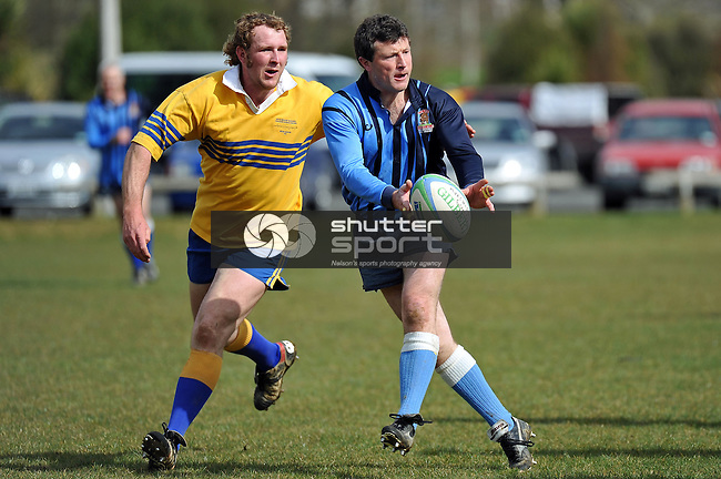 Golden Oldies Rugby Murchison Shakes v the Christchurch Bay's Bull Shitters in Murchison 10.9.11