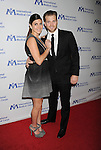 BEVERLY HILLS, CA- OCTOBER 23: Actress Jamie-Lynn Sigler (L) and MLB player Cutter Dykstra arrive at the International Medical Corps' Annual Awards dinner ceremony at the Beverly Wilshire Four Seasons Hotel on October 23, 2014 in Beverly Hills, California.