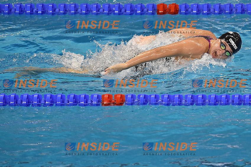 Elena DI LIDDO Italia Women's 100m Butterfly <br /> Doha Qatar 06-12-2014 Hamad Aquatic Centre, 12th FINA World Swimming Championships (25m). Nuoto Campionati mondiali di nuoto in vasca corta.<br /> Photo Andrea Staccioli/Deepbluemedia/Insidefoto