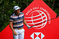 Cameron Smith (AUS) on the 9th tee during the 2nd round at the WGC HSBC Champions 2018, Sheshan Golf CLub, Shanghai, China. 26/10/2018.<br /> Picture Fran Caffrey / Golffile.ie<br /> <br /> All photo usage must carry mandatory copyright credit (&copy; Golffile | Fran Caffrey)
