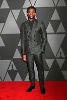 HOLLYWOOD, CA - NOVEMBER 11: Chadwick Boseman_ at the AMPAS 9th Annual Governors Awards at the Dolby Ballroom in Hollywood, California on November 11, 2017. Credit: David Edwards/MediaPunch /NortePhoto.com