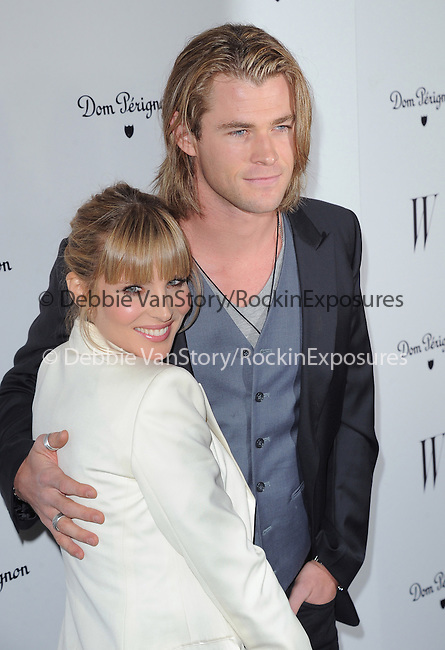 Elsa Pataky and Chris Hemsworth  attends The W Magazine – the Best Performances Issue Celebration held at The Chateau Marmont in West Hollywood, California on January 13,2012                                                                               © 2012 DVS / Hollywood Press Agency