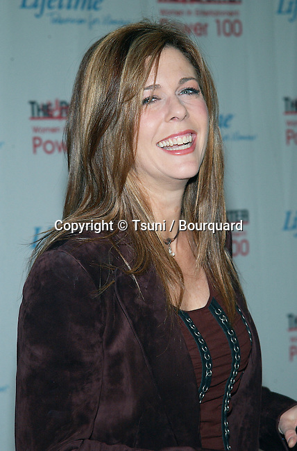 "Rita Wilson arriving at the ""Hollywood Reporter's Annual Power 100 Breakfast - Women in Entertainment"" at the Beverly Hills Hotel in Los Angeles. December 3, 2002.           -            WilsonRita075.jpg"