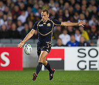 Rugby World Cup Auckland England v Scotland  Pool B 01/10/2011.Dan Parks (Scotland).Photo  Frey Fotosports International/AMN Images