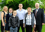 Oonagh, Ken and Riley with Niamh Milne and Gran and Gran-dad Reilly during Confirmation for Duleek National School on Friday 22nd May 2015.<br /> Picture:  Thos Caffrey / www.newsfile.ie