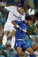 26.08.2012 SPAIN -  La Liga 12/13 Matchday 2th  match played between Getafe C.F. vs Real Madrid CF (0-0) at Alfonso Perez stadium. The picture show Sergio Ramos (Spanish defender of Real Madrid)