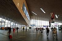 De hal van het vernieuwde Rotterdam Centraal Station