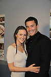 "Guiding Light Tom Pelphrey poses with his girlfriend Jessica as Tom stars in the film and at the premiere of ""Excuse Me For Living"" on October 12, 2012 at AMC Loews Village 7, New York City, New York.  (Photo by Sue Coflin/Max Photos)"