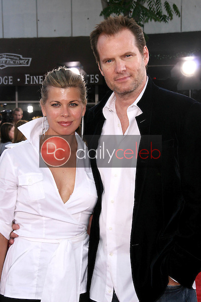 """Beth Toussaint and Jack Coleman<br />at the World Premiere of """"Get Smart"""". Mann Village Theatre, Westwood, CA. 06-16-08<br />Dave Edwards/DailyCeleb.com 818-249-4998"""