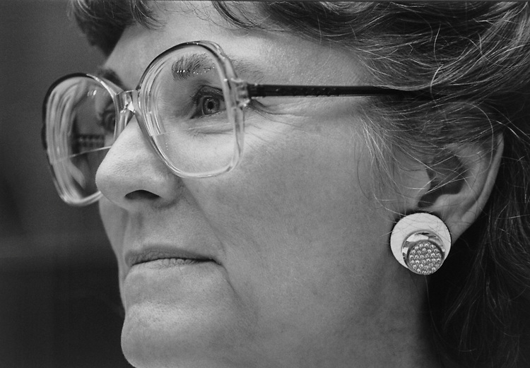 Rep. Sue W. Kelly, R-N.Y., in August 1995. (Photo by Maureen Keating/CQ Roll Call via Getty Images)