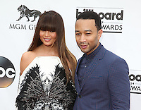 LAS VEGAS, NV - May 18 : Chrissy Teigan and John legend pictured at 2014 Billboard Music Awards at MGM Grand in Las Vegas, NV on May 18, 2014. ©EK/Starlitepics