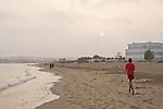 Oman - Beach near the Intercontinental Hotel