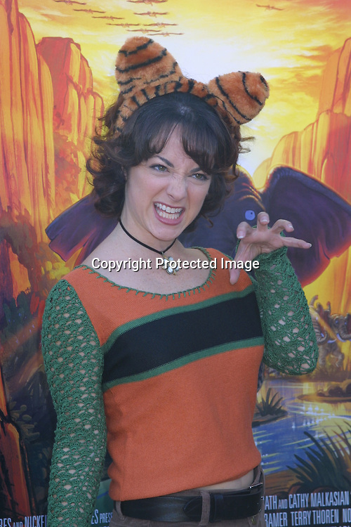 ©2002 KATHY HUTCHINS / HUTCHINS PHOTO.WILD THORNBERRY PREMIERE.HOLLYWOOD  CA..DECEMBER 8 2002..MELISSA GREENSPAN.