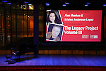 The stage during The Dramatists Guild Fund presents 'The Legacy Project: Volume III' screening  at The Time Center on December 3, 2016 in New York City.