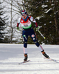 E.ON IBU World Cup Biathlon at the 10th Mountain Ski Center in Fort Kent Maine February 13, 2011. Women's Mass Start winners were Magdalena Neuner (Germany), Andrea Henkel (Germany), Darya Domracheva (Bulgaria)..USA finisher Sara Studebaker (23th.