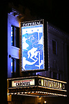 Theatre Marquee for the Opening Night performance of 'Carousel' at the Imperial Theatre on April 12, 2018 in New York City.