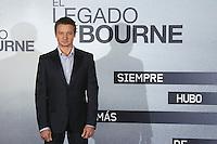 """MADRID, ESPANHA, 18 JULHO 2012 - O LEGADO BOURNE - O ator norte americano Jeremy Renner durante sessão de fotos para promover o filme """"O Legado Bourne"""" no Hotel Villamagna em Madrid na Espanha, nesta quarta-feira, 18. (FOTO: CESAR CEBOLLA / ALFAQUI / BRAZIL PHOTO PRESS)."""