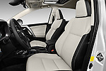 Front seat view of 2016 Toyota RAV4 Hybrid-Limited-4x4 5 Door SUV Front Seat  car photos