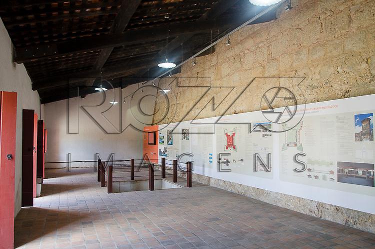 Museu do Forte de Santa Cruz de Itamaracá - conhecido como Forte Orange, Ilha de Itamaracá - PE, 12/2012.