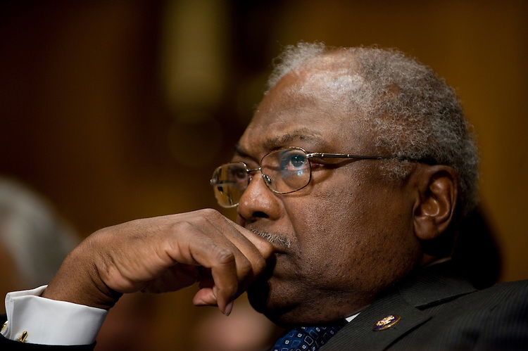 James Clyburn, D-SC., during the full committee hearing on the nominations of Goodwin Liu, to be U.S. Circuit Judge for the Ninth Circuit in the Dirksen Senate Office Building on April 16, 2010..