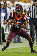 Landover, MD - September 3, 2017: Virginia Tech Hokies wide receiver Sean Savoy (15) in action during game between Virginia Tech and WVA at  FedEx Field in Landover, MD.  (Photo by Elliott Brown/Media Images International)