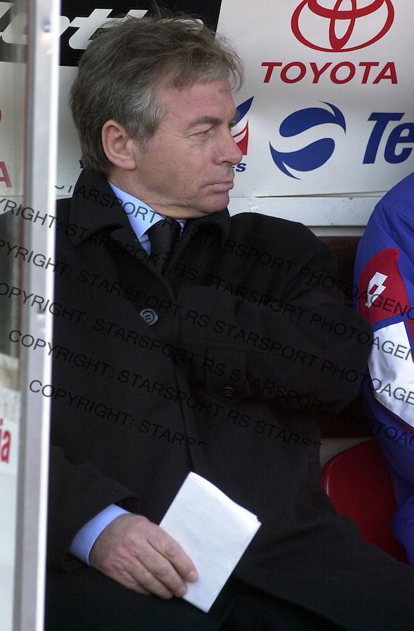 SPORT FUDBAL REPREZENTACIJA SCG - NORVESKA 31.03.2004.   Ilija Petkovic  foto: Pedja Milosavljevic<br />