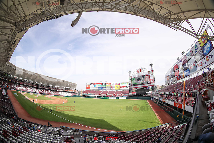 Vista panor&aacute;mica de el Nuevo Estadio de los Tomateros en un d&iacute;a soleado  , durante el partido de beisbol de la Serie del Caribe entre Republica Dominicana vs Puerto Rico en el Nuevo Estadio de los Tomateros en Culiacan, Mexico, Sabado 4 Feb 2017. Foto: Luis Gutierrez/NortePhoto.com<br /> <br /> Actions, during the Caribbean Series baseball match between Dominican Republic vs Puerto Rico at the New Tomateros Stadium in Culiacan, Mexico, Saturday 4 Feb 2017. Photo: Luis Gutierrez / NortePhoto.com