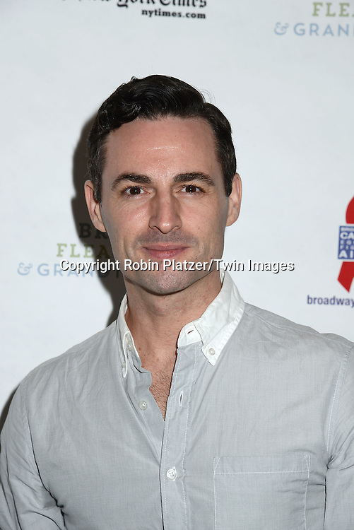 Max von Essen attends the 29th Annual Broadway Flea Market &amp; Grand Auction benefitting Broadway Cares/ Equity Fights Aids  at Shubert Alley on September 27, 2015 in New York, New York, USA.<br /> <br /> photo by Robin Platzer/Twin Images<br />  <br /> phone number 212-935-0770