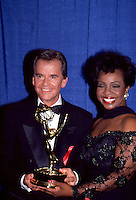 Dick Clark & Gladys Knight 1994 Daytime Emmy<br />