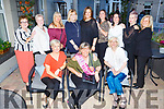 Jackie Murphy from Tralee and Derby UK, celebrating her 50th birthday in the Ashe Hotel on Saturday.<br /> Seated l to r: Marie Brearley, Jackie Murphy and Arlette Kelly.<br /> Back l to r: Maria Horgan, Hayley Murphy, Ann McMahon, Carol Gilligan, Vanessa Caroline, Becky Marsden, Becky Williamson, Fiona Doherty and Ann Linnane