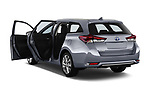 Car images close up view of a 2018 Toyota Auris Touring Sports Lounge 5 Door Wagon doors
