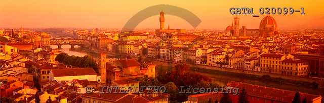 Tom Mackie, LANDSCAPES, panoramic, photos, View over Florence, Tuscany, Italy, GBTM020099-1,#L#